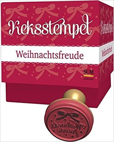 """Keksstempel-Set """"Weihnachtsfreude"""": mit Rezeptbuch"""