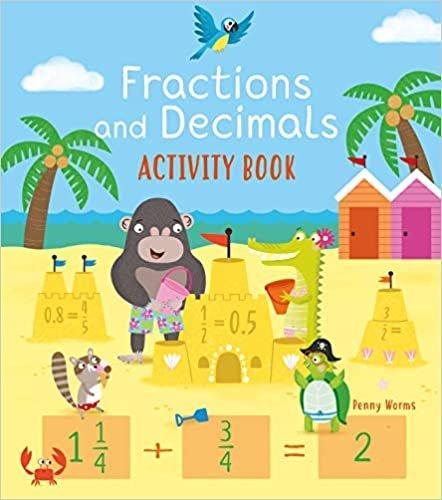 Fractions and Decimals Activity Book (Arcturus Math Skills Workbooks)