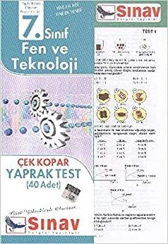 Sınav 7. Sınıf Fen Bilimleri Yaprak Test ( 40 Test )