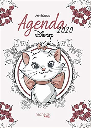 Art-Thérapie Agenda Disney 2020 (Heroes)