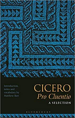 Cicero, Pro Cluentio: A Selection