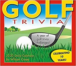 Golf Trivia 2020 Calendar: A Year of Golf Trivia Challenges!