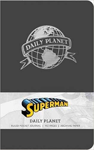Superman: Daily Planet Ruled Pocket Journal (Insights Journals)