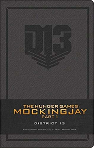 HUNGER GAMES: DISTRICT 13 HARDCOVER RULED JOURNAL (Insights Journals)