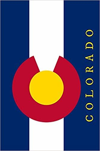 Colorado: State Flag Notebook Journal Planner 90 Pages