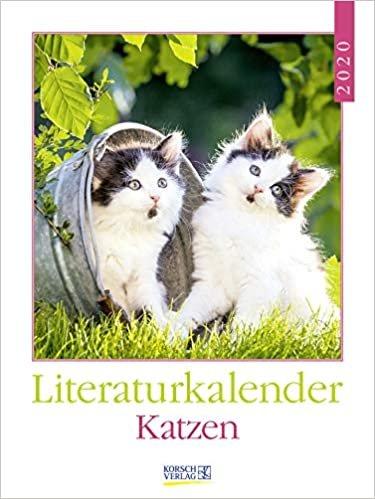 Literaturkalender Katzen 2020