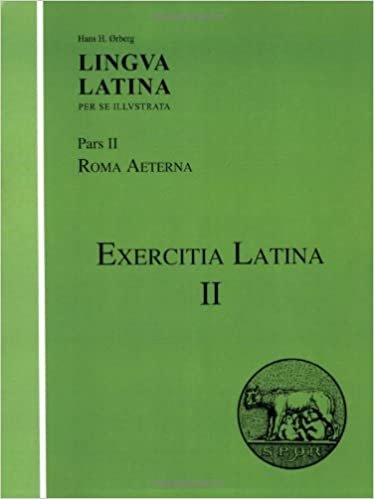 Lingua Latina: Exercitia Latina II