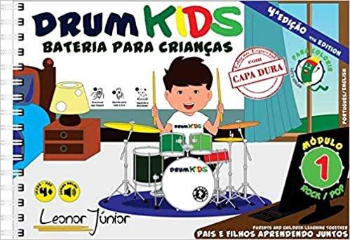DRUM KIDS - BATERIA PARA CRIANÇAS - MÓDULO 1