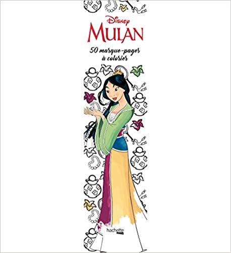Marque-pages Disney Mulan: 50 marque-pages à colorier (Heroes)