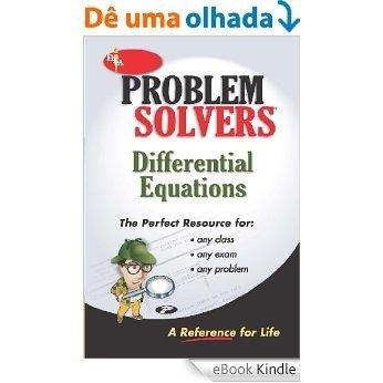 Differential Equations Problem Solver [eBook Kindle]
