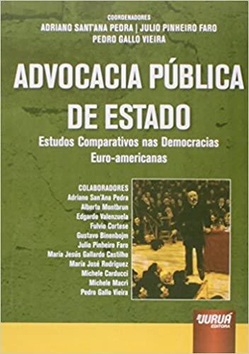 Advocacia Pública de Estado: Estudos Comparativos nas Democracias Euro-americanas