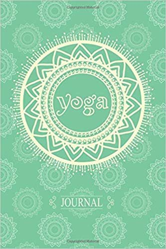 Journal: Light Teal Mandala 6 x 9 Inch Yoga Notebook 118 Lined Pages (6x9 Diary)