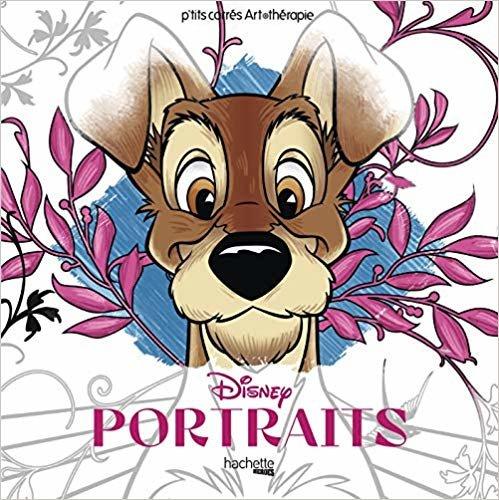 Carrés Art-thérapie Portraits Disney (Heroes)