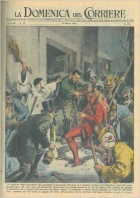 Litigio tra contadino di Lauregno e corteo mascherato che ogni anno a Carnevale attraversa le vie del paese.
