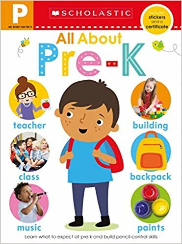 Get Ready for Pre-K Skills Workbook: Preschool Readiness (Scholastic Early Learners)