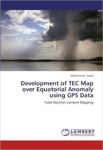 Development of Tec Map Over Equatorial Anomaly Using GPS Data