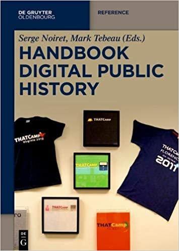 Handbook Digital Public History (De Gruyter Reference)