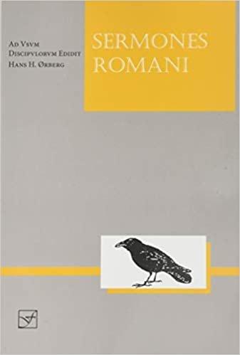 Sermones Romani: Ad Usum Discipulorum