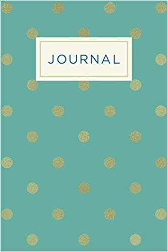 Inmate journal for women: Notebook with inspiring, positive and motivational quotes: Record your thoughts, document your progress: Mint green polka dot