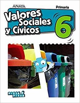 Valores Sociales y Cívicos 6. (Pieza a Pieza)