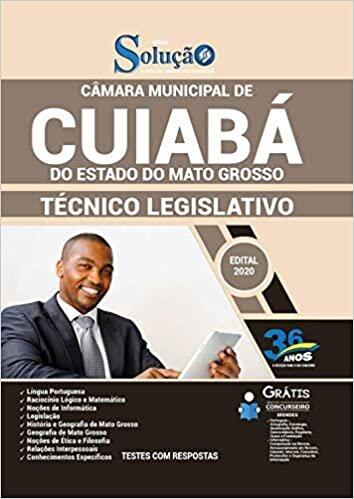 Apostila Cuiabá MT - Técnico Legislativo - Câmara