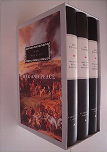 War And Peace: 3 vols (Everyman's Library Classics)