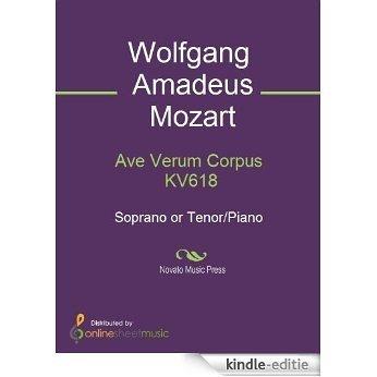 Ave Verum Corpus KV618 - Score [Kindle-editie]