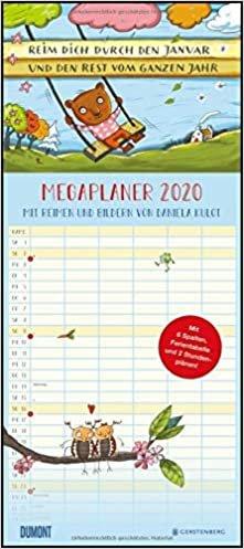 Mega-Familienkalender 2020 Reim dich durchs Jahr - D. Kluot
