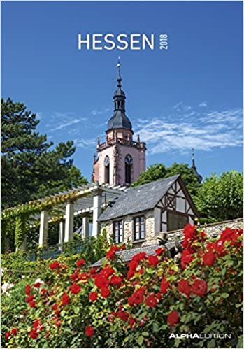Hessen 2018 - Bildkalender (24 x 34) - Landschaftskalender