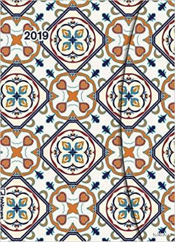 2019 Azuleojos Diary - teNeues Large Magneto Diary - 16 x 22 cm