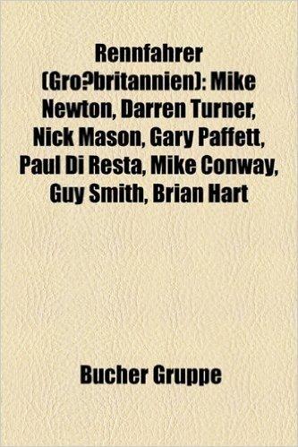 Rennfahrer (Grossbritannien): Gary Paffett, Dan Wheldon, Mike Newton, Susie Stoddart, Darren Turner, Oliver Jarvis, Nick Mason, Mike Conway