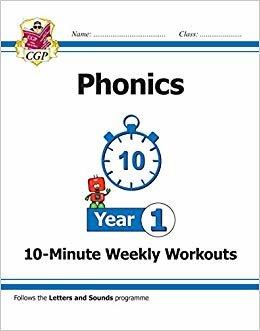 New KS1 English 10-Minute Weekly Workouts: Phonics - Year 1