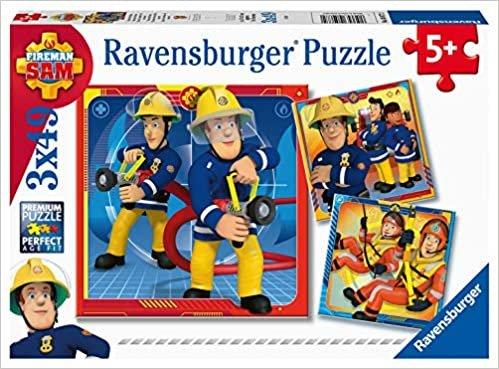 Ravensburger 05077 - Our Held Sam - 3x49 Parça Çocuk Yapbozu