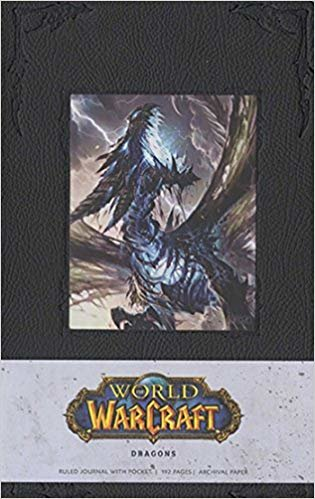 WORLD OF WARCRAFT DRAGONS HARDCOVER BLANK JOURNAL (Insights Journals)