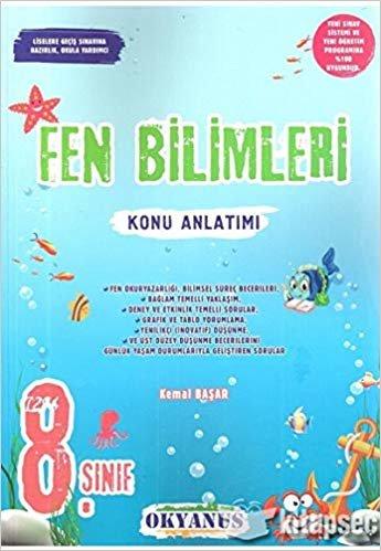 8. Sınıf Fen Bilimleri Konu Anlatımı Okyanus Yayınları