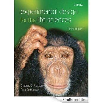 Experimental Design for the Life Sciences [Print Replica] [Kindle-editie]