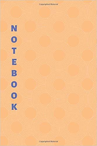 Notebook: Orange Lined Notebook & Journal for Writing (110 pages, College Ruled, 6 x 9 inches, Matte, Colorful Cover) (Classic Notebooks)