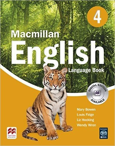 Macmillan English 4: Language Book (Primary ELT Course for the Middle East)