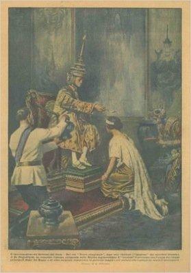 L'incoronazione della Regina del Siam.