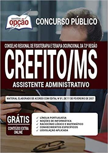 Apostila CREFITO MS - Assistente Administrativo 13ª Região