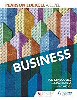 Pearson Edexcel A level Business (English Edition)
