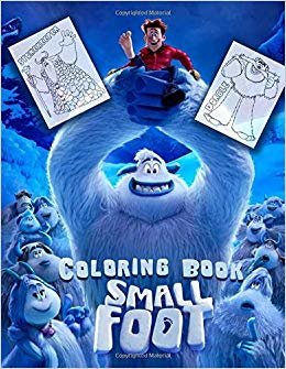 Smallfoot Coloring Book
