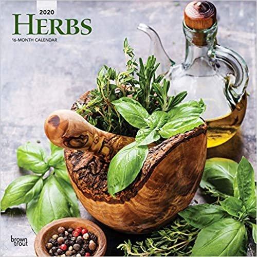 Herbs 2020 Square Wall Calendar