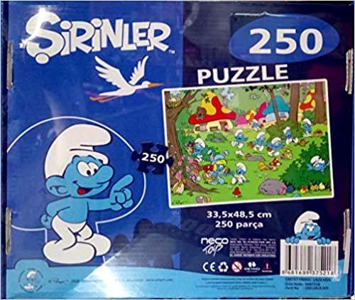Laço Kids Şirinler 250 Parça Puzzle