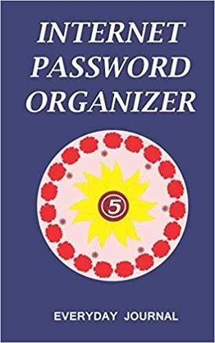 Internet Password Organizer 5: Internet Password Organizer, Portable Password Organizer Internet Password Book, Password Journal, and Password Keeper ... Password (Internet Password Organizer Books)