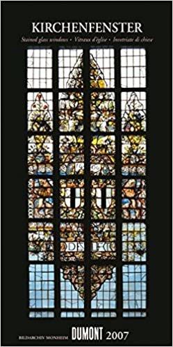 Kirchenfenster - Long Size-Kalender 2007