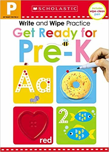 Write and Wipe Practice: Get Ready for Pre-K (Scholastic Early Learners)