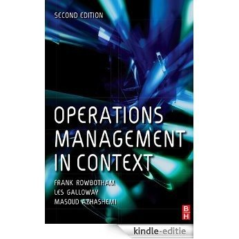 Operations Management in Context [Kindle-editie]