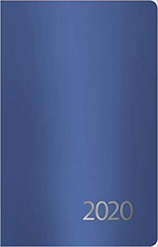 Agenda Metallic blau S 2020