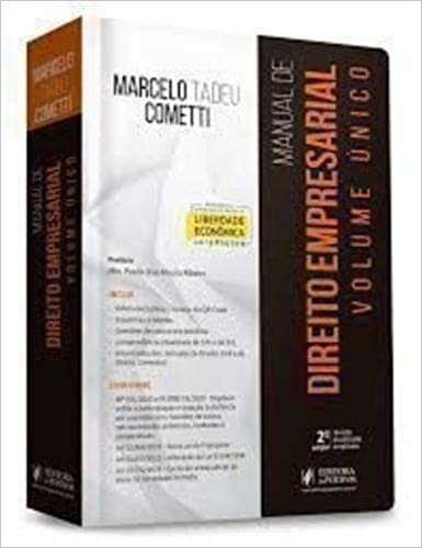 Manual de Direito Empresarial - Volume Único - 2ª Edição (2020)